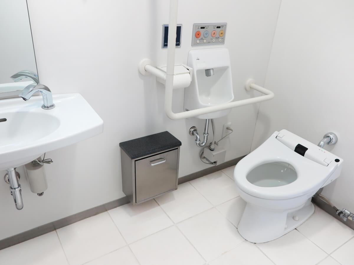 ユニバーサルデザイントイレ・浴室等の施工